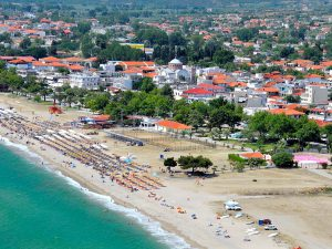 asprovalta-greece-aerial